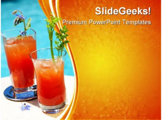 bloody mary cocktail food powerpoint templates and
