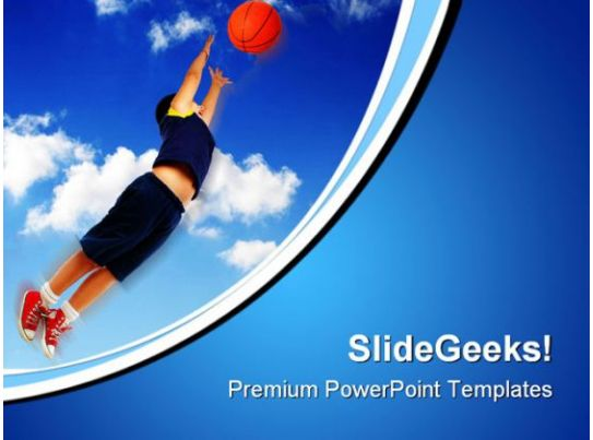 Basketball' Powerpoint Templates Ppt Slides Images Graphics And Themes