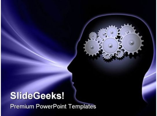Brain Gears Science Powerpoint Templates And Powerpoint