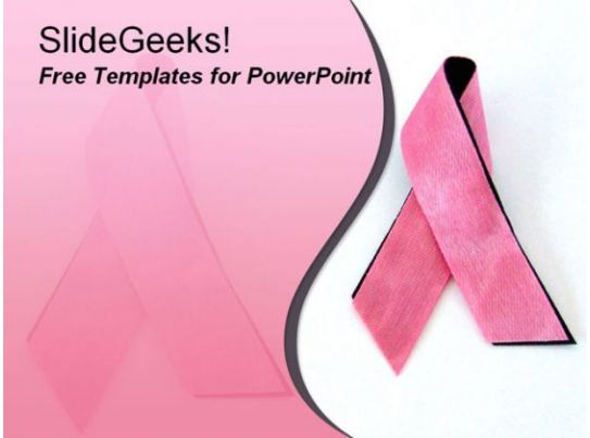 breast cancer ppt template breastcancer 1009 breast cancer awareness