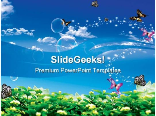 Animals powerpoint themes pets powerpoint templates butterfly background nature toneelgroepblik Images