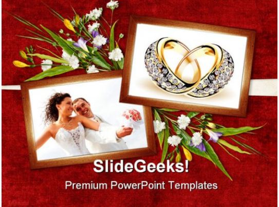 card for wedding day youth powerpoint templates and
