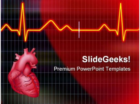 cardiogram medical powerpoint templates and powerpoint