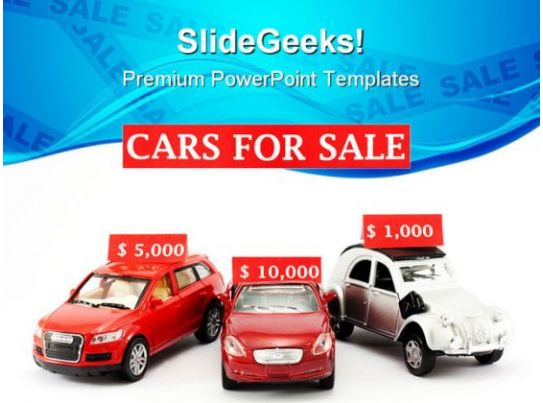 cars for sale marketing powerpoint templates and powerpoint backgrounds 0511 microsoft. Black Bedroom Furniture Sets. Home Design Ideas
