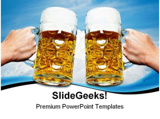 celebrate beers festival powerpoint templates and powerpoint