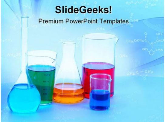 Chemical Glassware Science Powerpoint Templates And Powerpoint