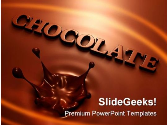 chocolate splash food powerpoint templates and powerpoint backgrounds 0211 graphics. Black Bedroom Furniture Sets. Home Design Ideas