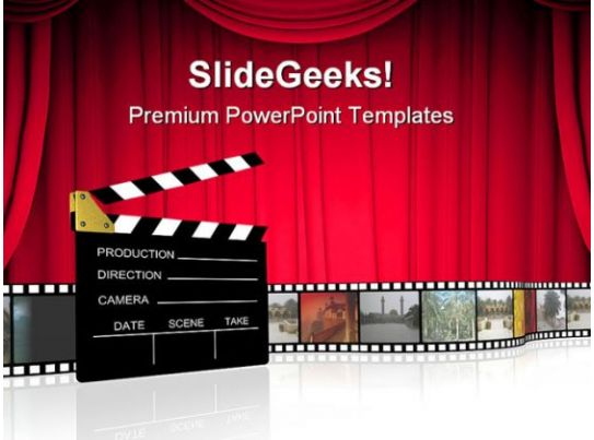 clap board nature powerpoint templates and powerpoint