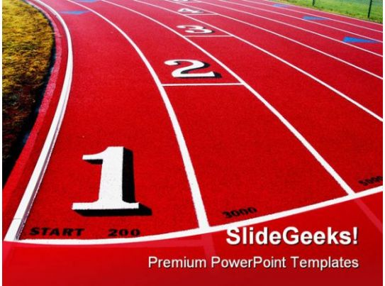 Competition Sports Powerpoint Template 0510 Presentation Graphics