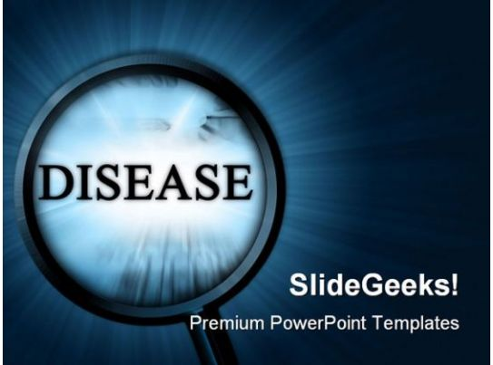 disease metaphor powerpoint templates and powerpoint