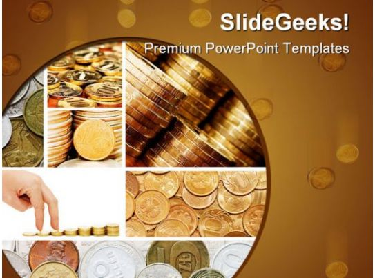 Dollar Collage Money Powerpoint Templates And Powerpoint