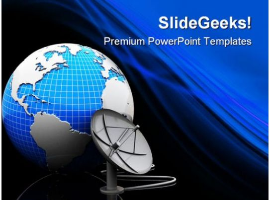 Earth and satellite antenna technology powerpoint templates and earth and satellite antenna technology powerpoint templates and powerpoint backgrounds 0411 graphics presentation background for powerpoint ppt toneelgroepblik