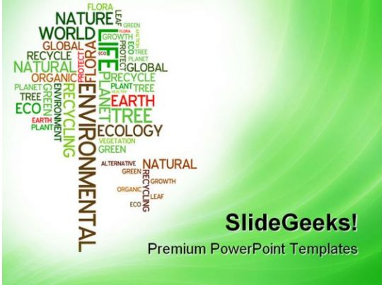 ecology environmental nature powerpoint templates and