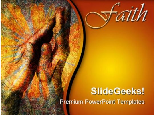 faith hands religion powerpoint templates and powerpoint