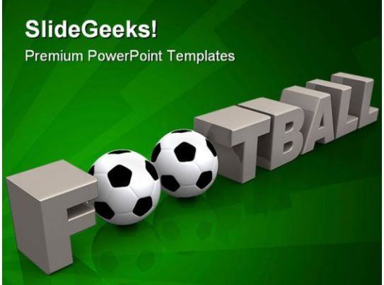 football sports powerpoint backgrounds and templates 1210 powerpoint slide images ppt design. Black Bedroom Furniture Sets. Home Design Ideas