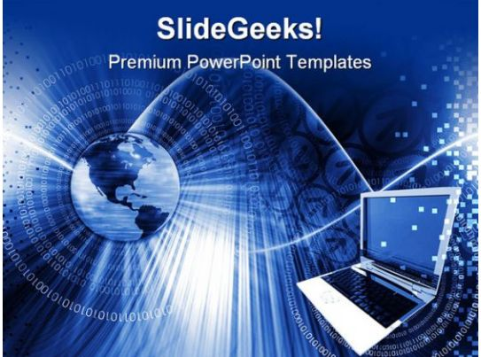 Global Computer Technology Powerpoint Templates And Powerpoint