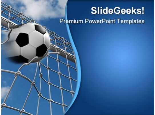 goal sports powerpoint templates and powerpoint