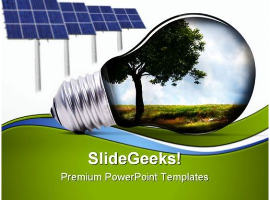 green energy environment powerpoint templates and