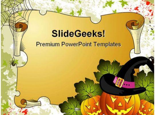halloween holidays powerpoint template 1010 powerpoint slide presentation sample slide ppt. Black Bedroom Furniture Sets. Home Design Ideas