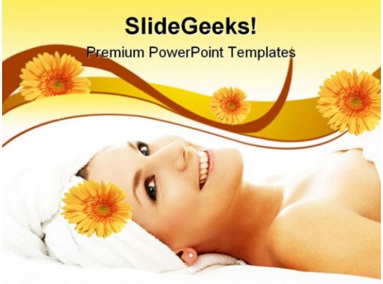 Happy Spa Beauty PowerPoint Templates And PowerPoint ...