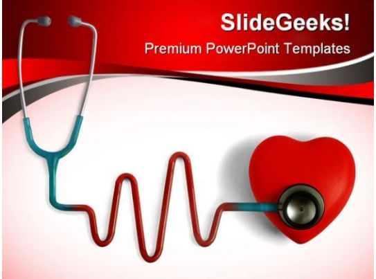 heart care medical powerpoint templates and powerpoint