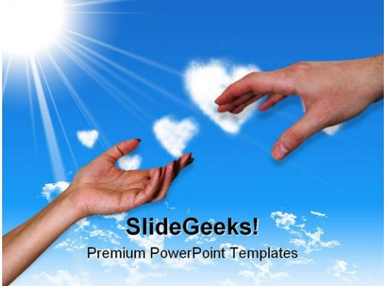 helping hands family powerpoint templates and powerpoint