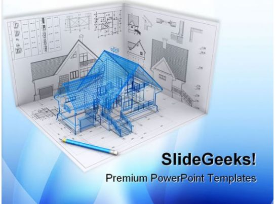 home project architecture powerpoint templates and