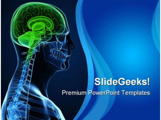 human brain technology powerpoint templates and powerpoint