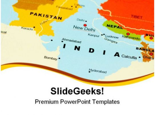 india map ppt template - india on map globe powerpoint templates and powerpoint