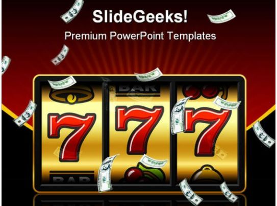Jackpot Winner Games Powerpoint Templates And Powerpoint