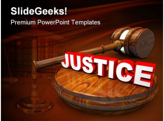 justice law powerpoint templates and powerpoint