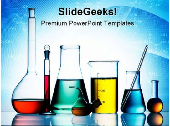 laboratory glassware science powerpoint templates and