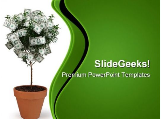 money plant future powerpoint templates and powerpoint