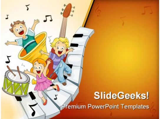 learn music powerpoint templates and powerpoint backgrounds, Powerpoint