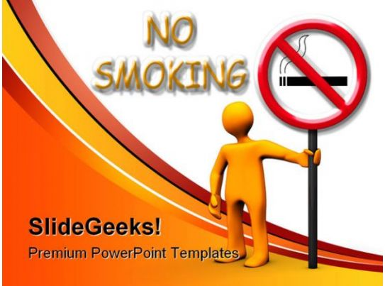 No smoking area health powerpoint backgrounds and - No smoking wallpaper download ...