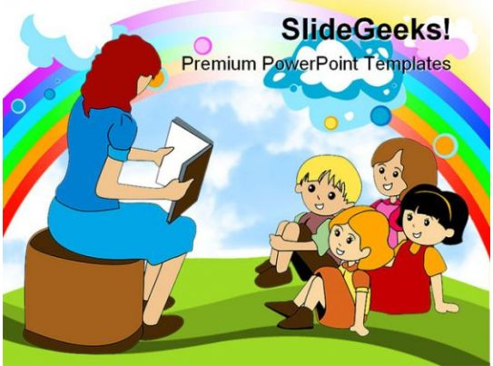 preschool education powerpoint backgrounds and templates