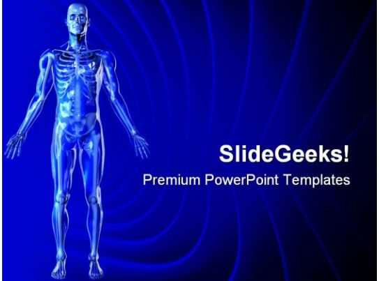 Skeleton Medical Powerpoint Templates And Powerpoint Backgrounds