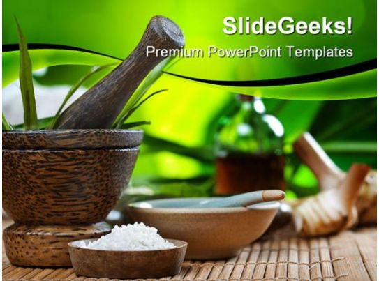 spa and ayurvedic beauty powerpoint backgrounds and