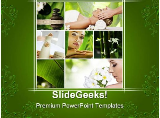 Spa Collage Health PowerPoint Templates And PowerPoint ...