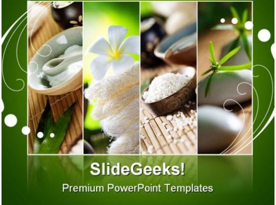 spa fragments beauty powerpoint backgrounds and templates