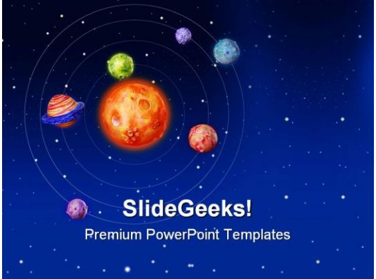 space planets earth powerpoint templates and powerpoint