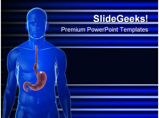 Stomach medical powerpoint backgrounds and templates 0111 related products toneelgroepblik Image collections