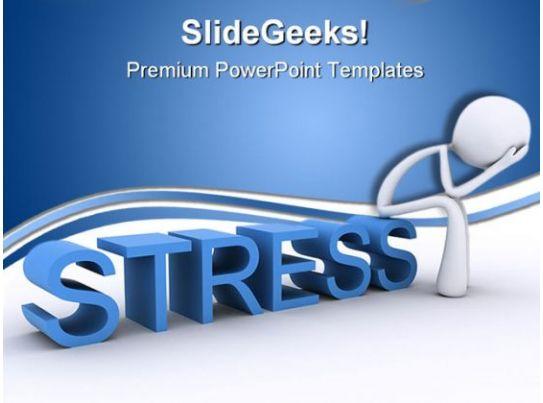 Stress Relax Business PowerPoint Template 0610 | PowerPoint ...