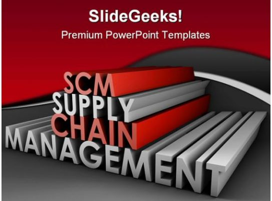 supply chain management business powerpoint templates and
