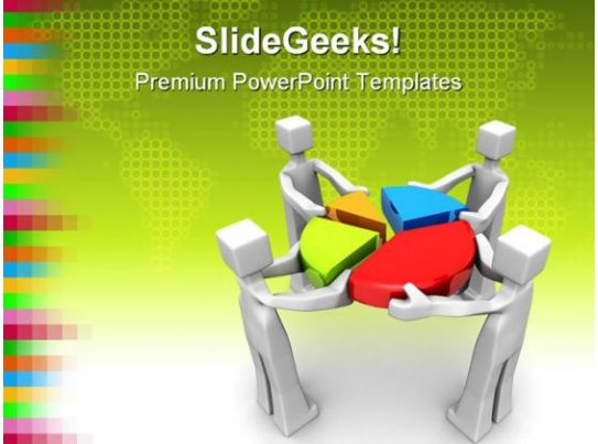 teamwork and performance business powerpoint template 1110