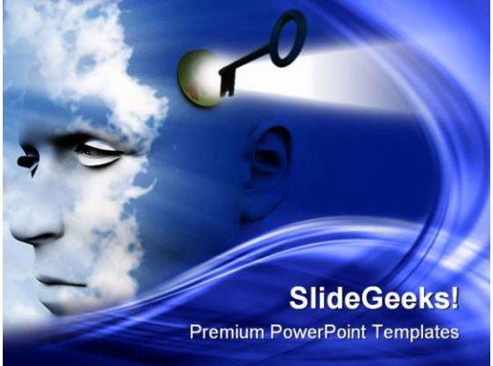 unlock your mind future powerpoint templates and