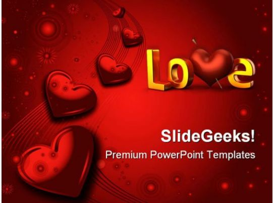 Valentines Day Wedding Powerpoint Templates And Powerpoint