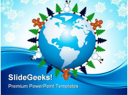 Winter Holidays PowerPoint Backgrounds And Templates 0111 – Winter Powerpoint Template