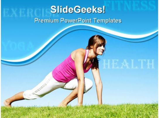 fitness' powerpoint templates ppt slides images graphics and themes