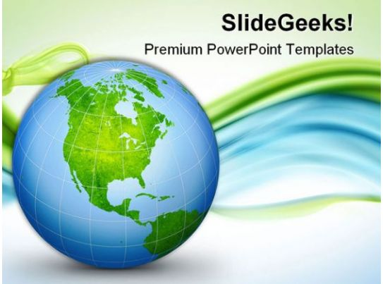 world globe geographical powerpoint templates and